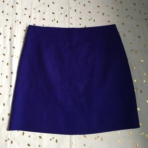 J. Crew Factory Dresses & Skirts - J. Crew Factory Purple Mini Skirt