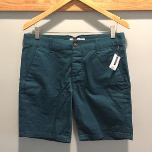 Topman Other - Topman Teal Green Shorts Size 32 Zigzag Pockets