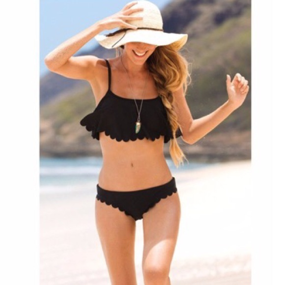 Other - ‼️CLEARENCE‼️Black Bikinis 2 pc Size S,M