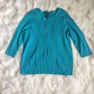 Karen Scott Sweaters - Karen Scott blue sweater