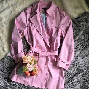 Lands' End Jackets & Blazers - 🆕 Listing! Light pink Lands' End trench coat