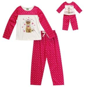 Dollie & Me Other - NWT Dollie & Me Pajama Set for Girls.