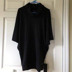 Zobha Tops - Zobha black cowl neck tunic size Small