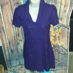 Liv Sweaters - Beautiful dark purple sweater Size Small.