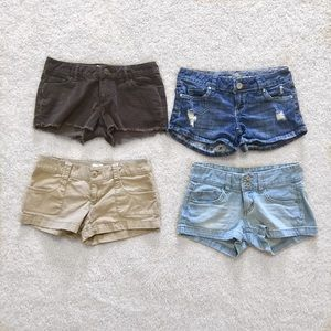 Pants - SMALL shorts bundle