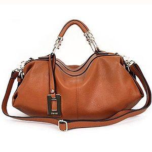 Handbags - Italian Leather Handle Shoulder Bag