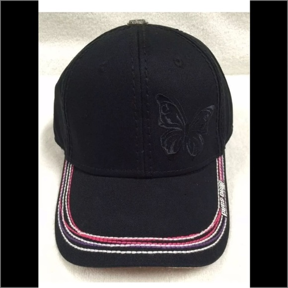 Pugs Gear Baseball Hat w Embroidered Butterfly NEW.  M 58f78d1799086aff6900a0fe ea890aac5