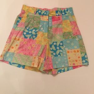 Vintage Cotton Connection Patchwork Shorts