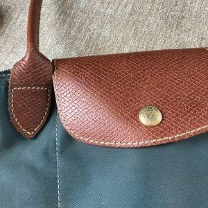 83bb3239ba6e Longchamp Bags - Longchamp Slate Blue Medium Tote