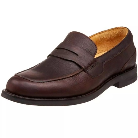 d0c152f16b7 Trask- Gibson Falls Brown Penny Loafers Shoes 7.5D