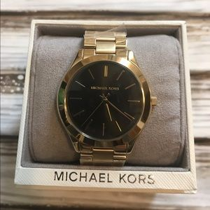 NWT Michael Kors Gold Watch