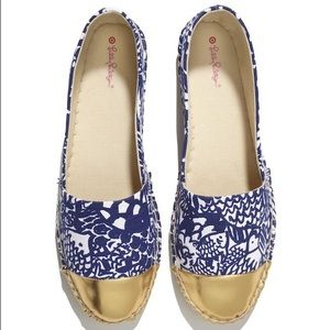 🎉BRAND NEW Lilly Pulitzer Upstream Flats Sz 8🎉