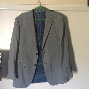 adolfo Other - NWT ADOLFO Blue Checker Man Jacket