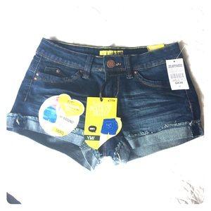 YMI Pants - ⚡️NWT⚡️YMI Jean Shorts Juniors Sz. 1