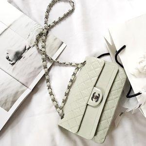 CHANEL Handbags - HP🌸RARE Chanel Aged Calfskin Medium Double Flap