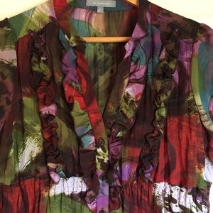 NY Collection Tops - NY Collection Sheer Blouse
