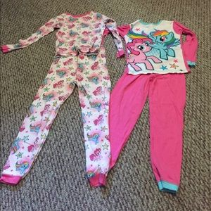 My Little Pony Other - My Little Pony pjs! Set of 2!