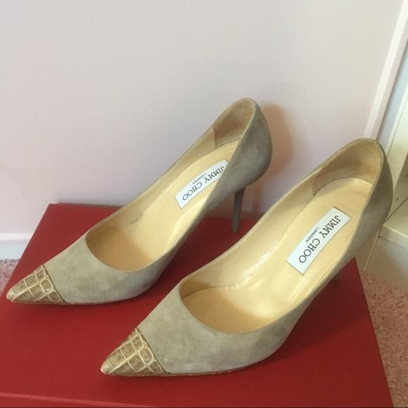 Shoes | Jimmy Choo Light Grey Pumps