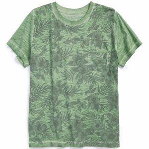 Peek Other - Peek palm print pocket T-shirt