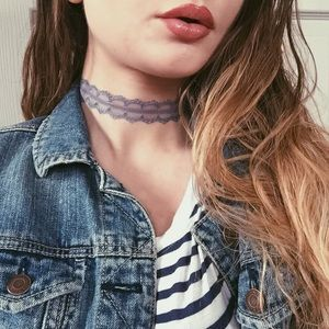 American Apparel Jewelry - The Something Blue Choker