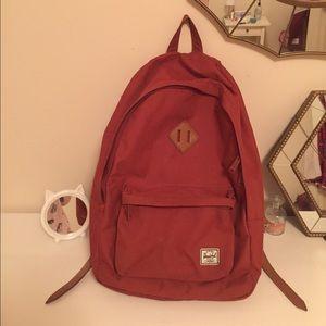 Herschel Supply Company Handbags - Herschel canvas and leather backpack