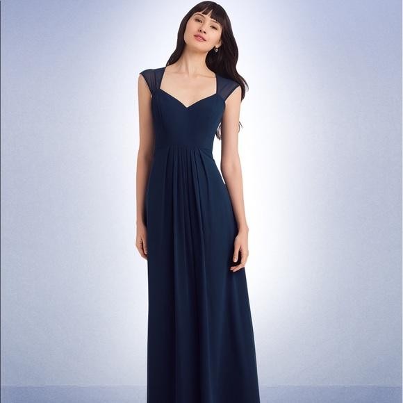 bbff1f1fbfe0 Bill Levkoff Dresses & Skirts - Bill Levkoff Navy Bridesmaid Dress, Style  #1124