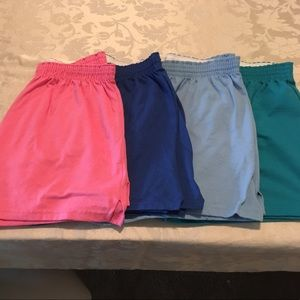 Soffe Pants - Like NEW 4 Pairs of Soffe Shorts Juniors Size XL