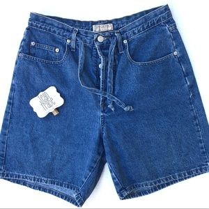 Guess Vintage Highwaist Mom Jean Shorts