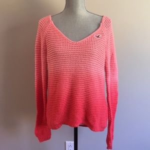 Hollister Sweaters - Like new hi lo ombre hollister sweater
