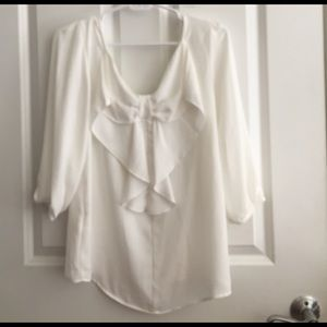 NWT Blouse with bow