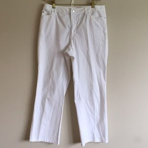 Kate Hill Pants - Kate Hill White Pants