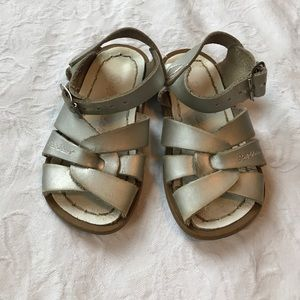 Salt Water Sandals by Hoy Other - Saltwater originals size 5 Used Condition silver