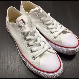 Brand New Women's White Converse