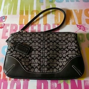 Coach Handbags - *FLASH SALE* Coach Wristlet