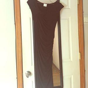 Black Scale Dresses & Skirts - Long Black Dress