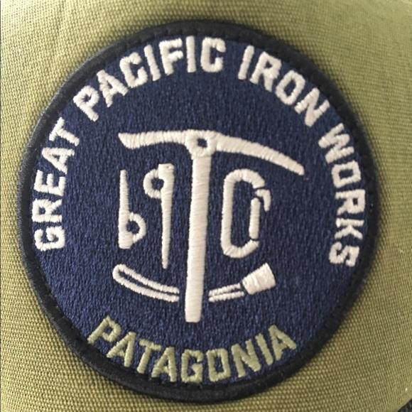 cb7ec306aeadb Patagonia trucker hat. M 58f7ae23bf6df57df8011313