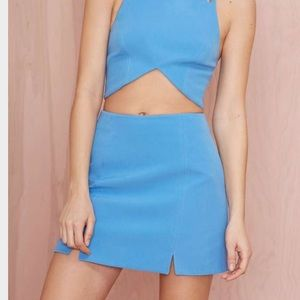 Nasty Gal Blur Cut Out a Skirt