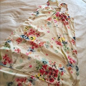 cute floral hi-lo h&m dress size 8