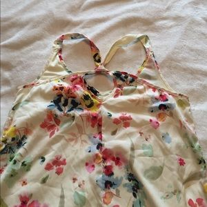 H&M Dresses - cute floral hi-lo h&m dress size 8