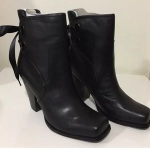 Harley-Davidson Shoes - Harley-Davidson Black Leather Motorcycle Boots