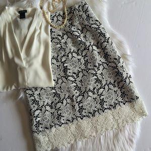T Tahari Dresses & Skirts - Tahari Lace Skirt