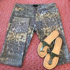Very J Pants - very J animal print skinny jeans