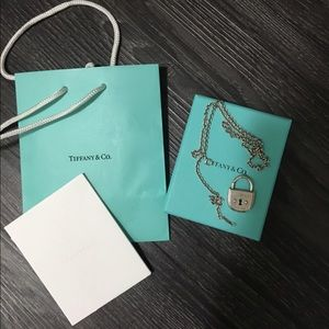Tiffany & Co. Jewelry - 🛍SALE 🛍Authentic Tiffany lock & chain necklace.