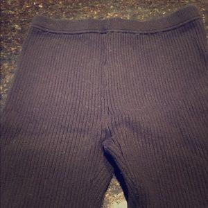 Gap sweater leggings Like new! Worn 2x Black PS