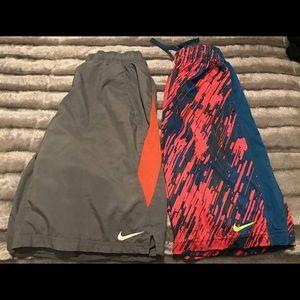 Nike Other - Two Boys Nike Shorts #75 & #76