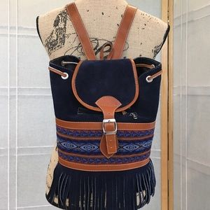 Handbags - Bohemian Dream Backpack 🎒 Purse NEW Suede Leather