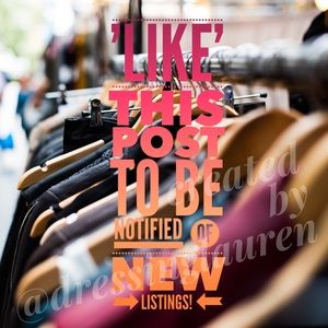 Other - 'Like' this post to be notified of new listings!