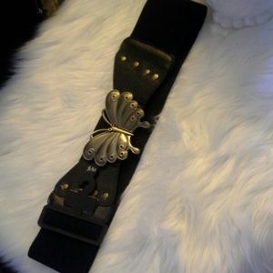 Accessories - Black Butterfly Belt