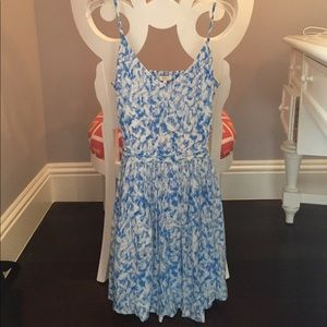 Joie Blue and White Dress