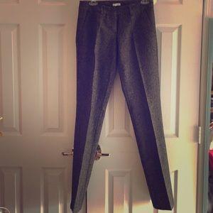 Motivi Pants - Black and brown Tweed wool pants